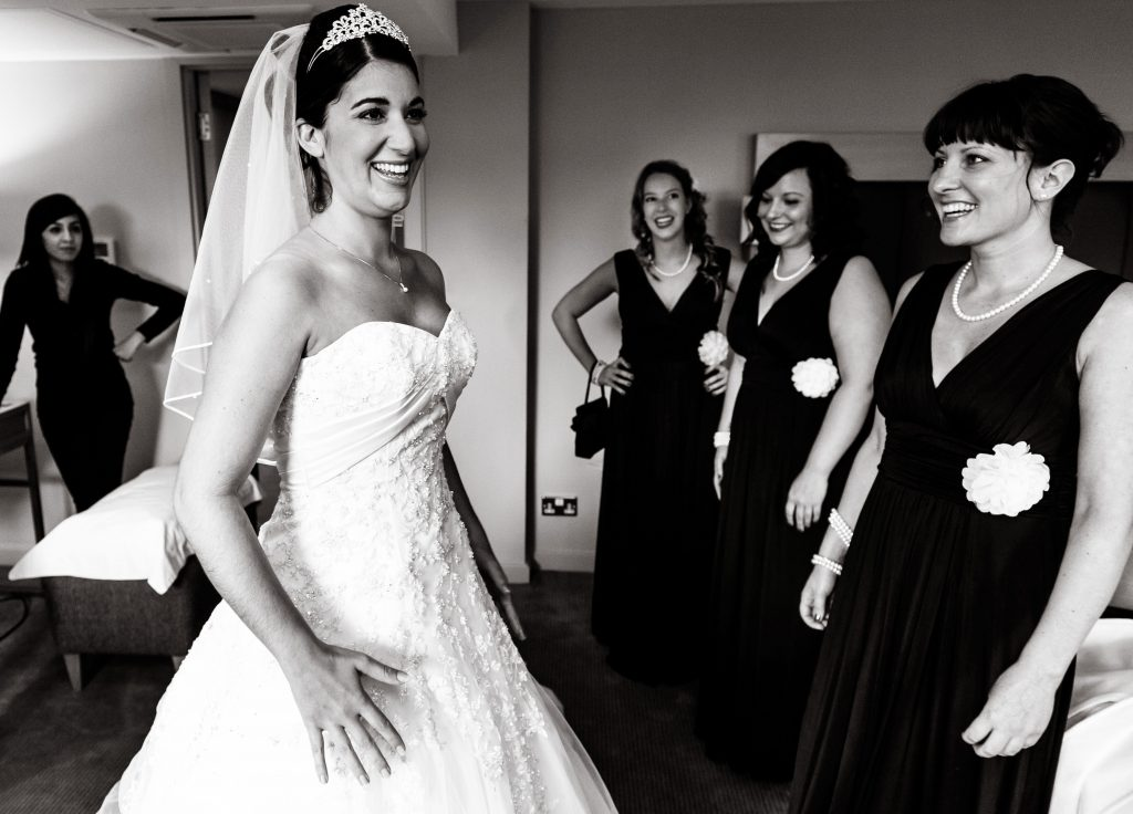 Documentary wedding photographs by Richard Eaton