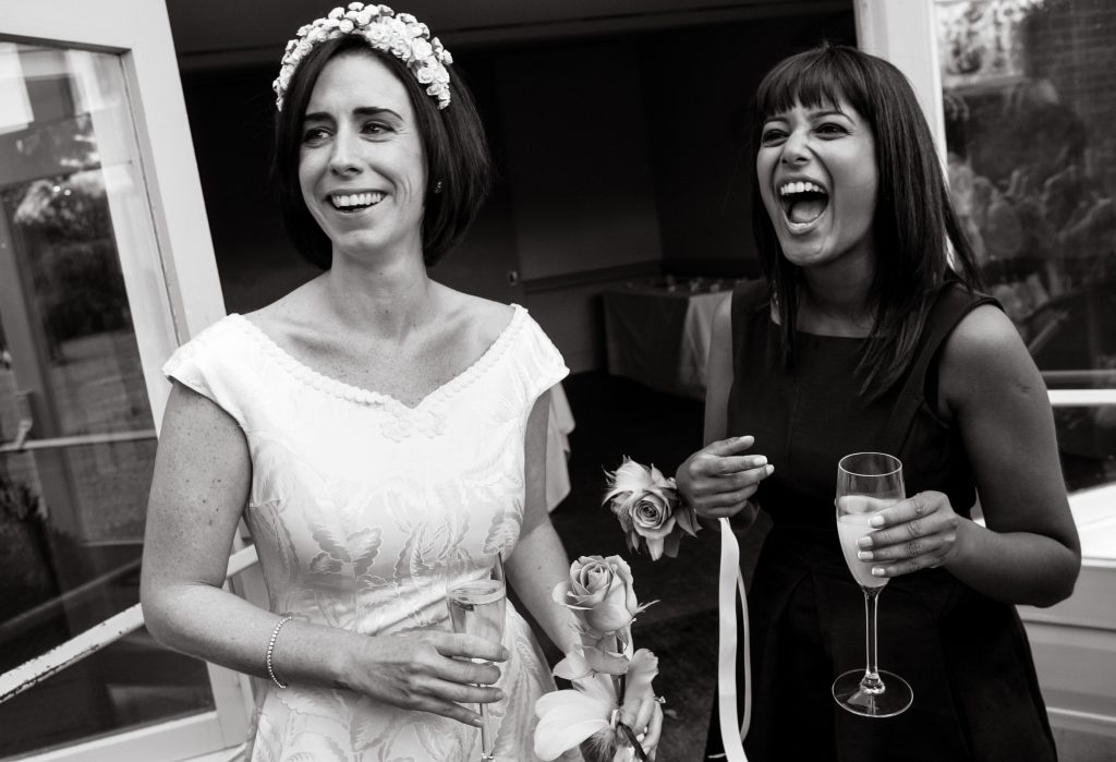 Documentary wedding photographs by Richard Eaton